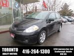 2008 Nissan Versa 1.8 SL, ONE OWNER in Scarborough, Ontario
