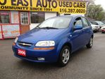 2006 Chevrolet Aveo $ 3 9 9 8 / LS Hatchback / WAS $4498 / 1OWNER / LI in Scarborough, Ontario