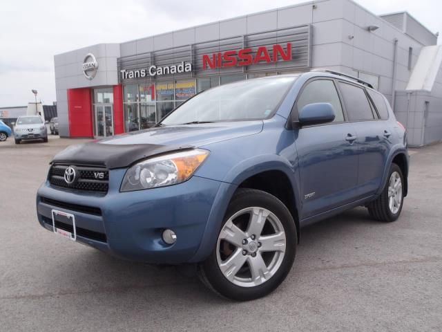 2007 toyota rav4 sport peterborough ontario used car. Black Bedroom Furniture Sets. Home Design Ideas
