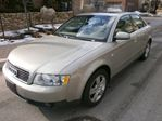 2002 Audi A4 3.0L QUATTRO, LEATHER, SUNROOF, AWD in Etobicoke, Ontario