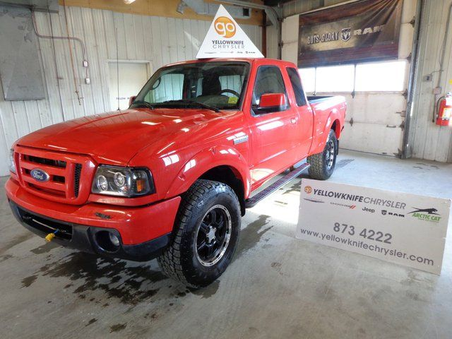 2010 ford ranger sport 4dr 4x4 super cab styleside 6 ft box 125 7 in wb yellowknife. Black Bedroom Furniture Sets. Home Design Ideas