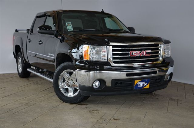 2010 gmc sierra 1500 slt crew cab 4x4 all terrain edition with leather milton ontario used. Black Bedroom Furniture Sets. Home Design Ideas