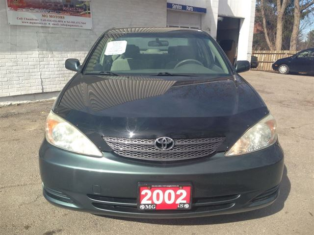 2002 toyota camry le v6 markham ontario used car for sale. Black Bedroom Furniture Sets. Home Design Ideas