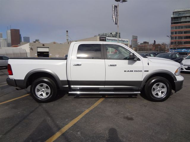 2012 dodge ram 1500 crew cab outdoorsman edition toronto ontario. Black Bedroom Furniture Sets. Home Design Ideas