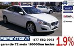 2012 Volvo S60 T6 BLANC certif in Repentigny, Quebec