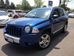 2009 Jeep Compass 4X4-LIMITED-LEATHER-SUNROOF-CERTIFIED in Mississauga, Ontario