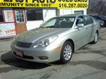 2003 Lexus ES 300 $ 8 9 9 8 / LEATHER / ROOF / WAS$9998 in Scarborough, Ontario