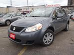 2008 Suzuki SX4 WOW! VERY LOW KM's. Only 60,000KM Accident Free! in Scarborough, Ontario