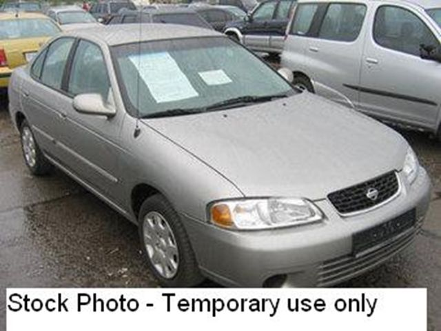 2001 nissan sentra xe toronto ontario used car for sale. Black Bedroom Furniture Sets. Home Design Ideas