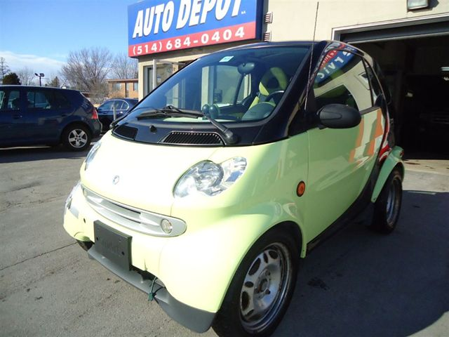 2006 smart fortwo diesel passion 6 vit montreal quebec used car for sale. Black Bedroom Furniture Sets. Home Design Ideas