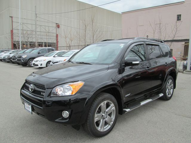 2010 toyota rav4 v6 awd sport package with leather seats toronto ontario used car for sale. Black Bedroom Furniture Sets. Home Design Ideas