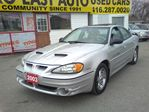 2003 Pontiac Grand Am $3995 / GT / LEATHER ROOF / ALLOYS / LOADED / SHAR in Scarborough, Ontario