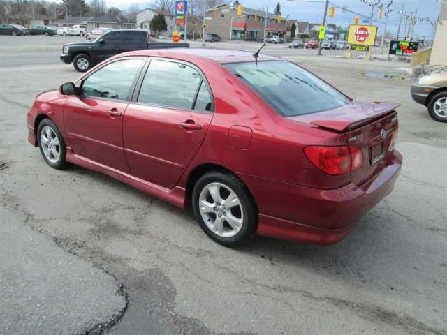 2005 toyota corolla xrs north bay ontario used car for sale. Black Bedroom Furniture Sets. Home Design Ideas