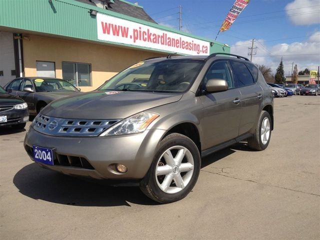 2004 nissan murano se this truck looks and runs amazing bolton ontario used car for sale. Black Bedroom Furniture Sets. Home Design Ideas