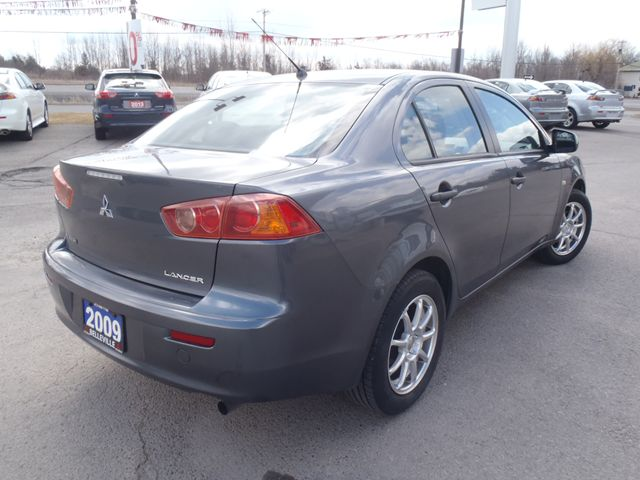 2009 mitsubishi lancer de belleville ontario used car for sale. Black Bedroom Furniture Sets. Home Design Ideas