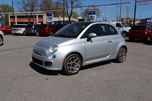 2012 Fiat 500 Sport, HALF LEATHER, SUNROOF, ALUM WHEELS, SIRIUS in Ottawa, Ontario