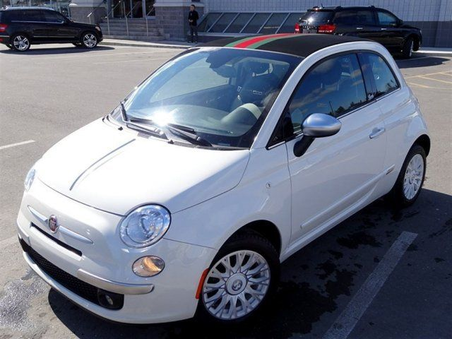 2012 fiat 500 collectible gucci leather auto loaded. Black Bedroom Furniture Sets. Home Design Ideas