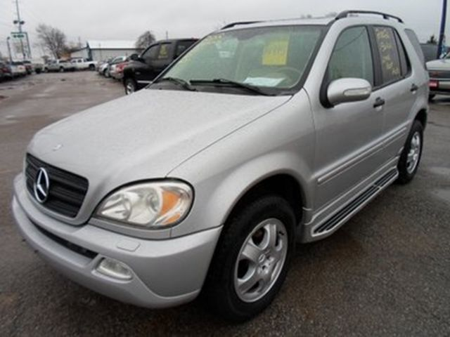 Used car and vehicle listings in guelph for Mercedes benz ml320 2002