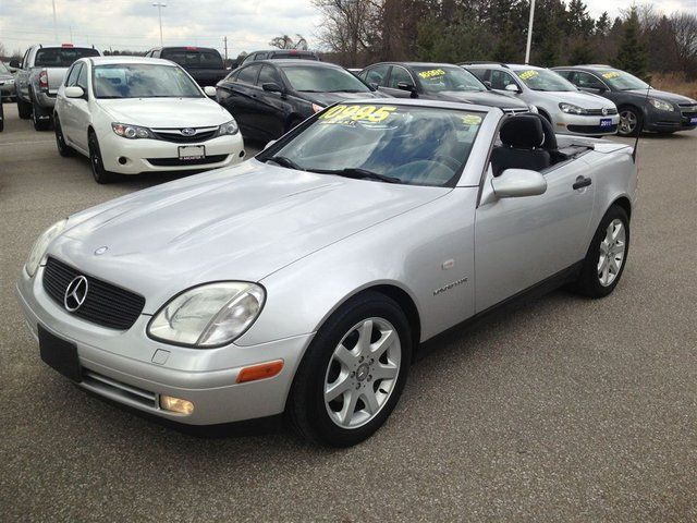 1998 mercedes benz slk class slk230 ancaster ontario used car for sale. Black Bedroom Furniture Sets. Home Design Ideas