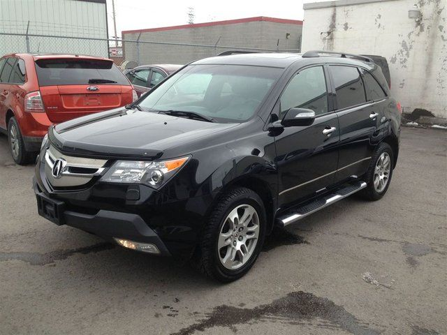2007 acura mdx sh awd all wheel drive ottawa ontario used car for sale. Black Bedroom Furniture Sets. Home Design Ideas