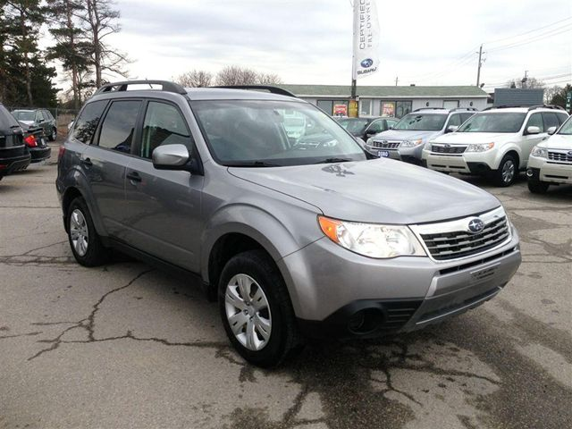 2009 subaru forester richmond hill ontario used car for sale. Black Bedroom Furniture Sets. Home Design Ideas