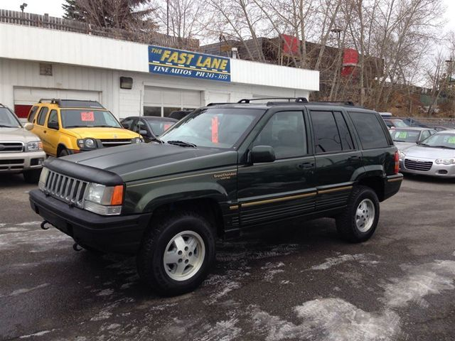 1995 jeep grand cherokee limited sport utility calgary alberta used. Cars Review. Best American Auto & Cars Review