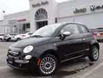 2013 Fiat 500 NEW Lounge, GLASS ROOF, HEATED LEATHER SEATS, KEYL in Thornhill, Ontario