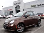 2013 Fiat 500 NEW Sport W/LEATHER, BLUE ME HANDSFREE, HTD SEATS! in Thornhill, Ontario