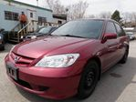 2005 Honda Civic  LX-G-FULLY LOADED-SUNROOF in Scarborough, Ontario