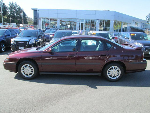 2003 chevrolet impala base victoria british columbia. Cars Review. Best American Auto & Cars Review
