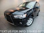 2010 Mitsubishi Outlander GT AWD NAVIGATION! CAMERA! LEATHER SUNROOF! in Guelph, Ontario