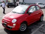 2013 Fiat 500 NEW Lounge, GLASS ROOF, HEATED LEATHER in Thornhill, Ontario
