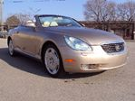 2004 Lexus SC 430 NAVIGATION/CONVERTIBLE/LEATHER in Toronto, Ontario
