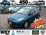2012 Mazda MAZDA2 GX $14995+TAX/LIC BAD CREDIT OK * OR AT 4.79% BW/ in London, Ontario