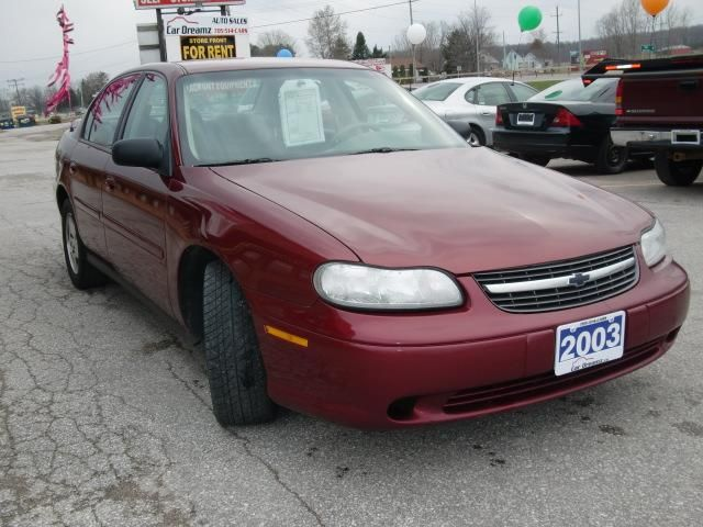 2003 chevrolet malibu as is kilworthy ontario used car. Cars Review. Best American Auto & Cars Review