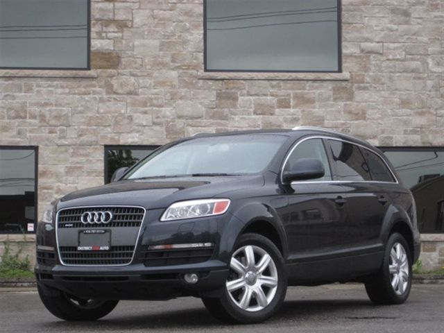 2007 audi q7 clearance sale 7 pass navi dvd v6. Black Bedroom Furniture Sets. Home Design Ideas