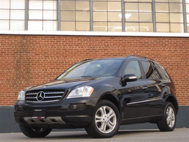 2007 mercedes benz m class ml320cdi 4matic extended for 2007 mercedes benz m class