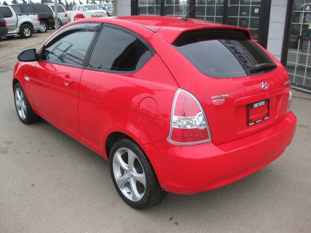 2007 hyundai accent sr 2dr hatchback edmonton alberta. Black Bedroom Furniture Sets. Home Design Ideas