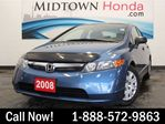 2008 Honda Civic DX-A - 1.99% Financing! in Toronto, Ontario