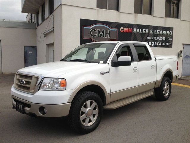 2008 ford f 150 king ranch 4x4 leather tonneau st catharines ontario used car for sale. Black Bedroom Furniture Sets. Home Design Ideas