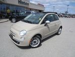 2012 Fiat 500 Lounge  CONVERTIBLE LEATHER in Perth, Ontario