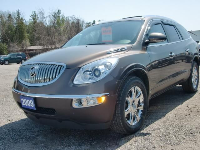 2009 buick enclave cxl awd brown simcoe county chrysler. Black Bedroom Furniture Sets. Home Design Ideas