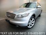 2004 Infiniti FX45 AWD NAVIGATION! LEATHER SUNROOF! CERTIFIED! in Guelph, Ontario