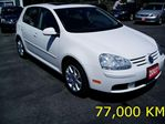 2007 Volkswagen Rabbit 2.5 SUNROOF ALLOYS accident free carproof in Burlington, Ontario