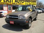 2002 Chevrolet Tracker SOLD in Scarborough, Ontario