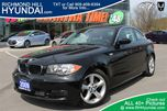 2009 BMW 1 Series 128 Coupe Black Automatic in Richmond Hill, Ontario