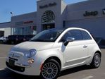 2013 Fiat 500 Lounge!LEATHER!CONVERTIBLE!HTD FRT SEATS! SAT RADI in Thornhill, Ontario