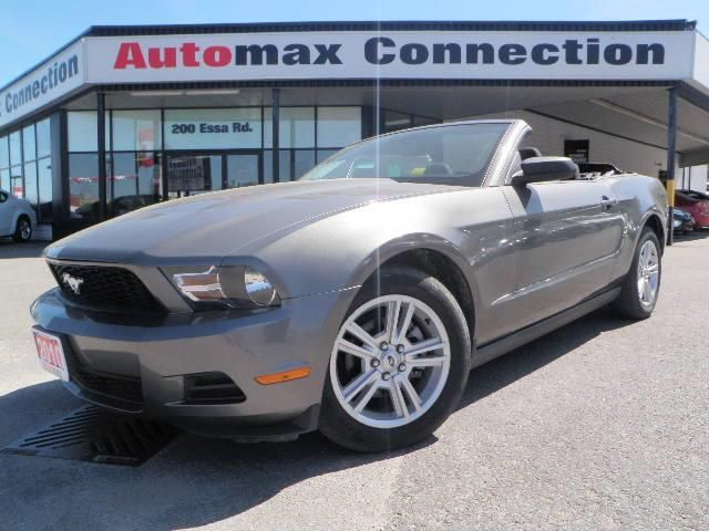 2010 ford mustang v6 barrie ontario used car for sale. Black Bedroom Furniture Sets. Home Design Ideas