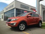 2011 Kia Sportage LX.1 OWNER TRADE IN...RARE COLOUR SUNBURST ORANGE. in Burlington, Ontario