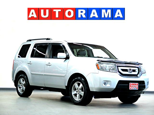 2009 honda pilot ex l 4wd 8 passenger north york ontario used car for sale. Black Bedroom Furniture Sets. Home Design Ideas